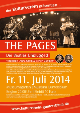 Plakat The Pages