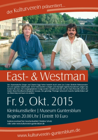 Plakat East- and Westman