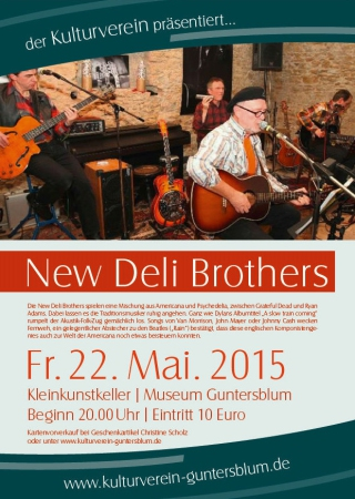 Plakat New Deli Brothers