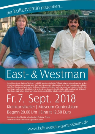 Plakat East and Westman