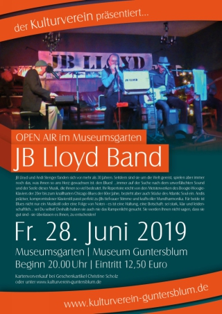 Plakat JB Lloyd Band